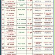 Mumbai - Pune Pancham Zone Chaturmas 2019